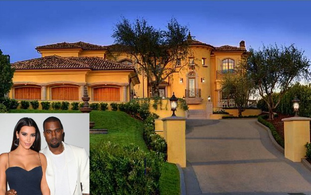 Kim Kardashian decor style New Year's Eve and Kim Kardashian decor Style Kim Kardashian and Kanye West new Bel Air house