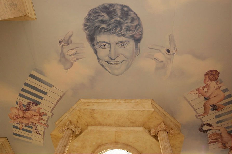 """""""Liberace face in Behind the Candelabra"""""""