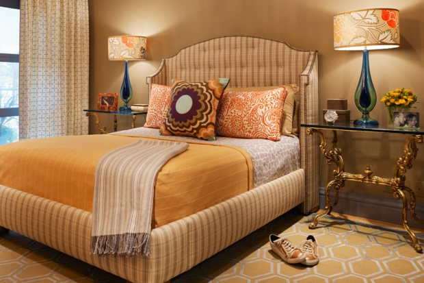"""Jay Jeffers bedroom idea""  Jay Jeffers: the San Francisco colorful interior designer bedroom 6"