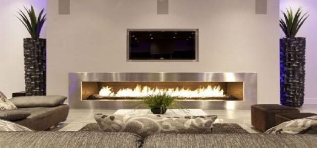 """Living Room design fireplace"""