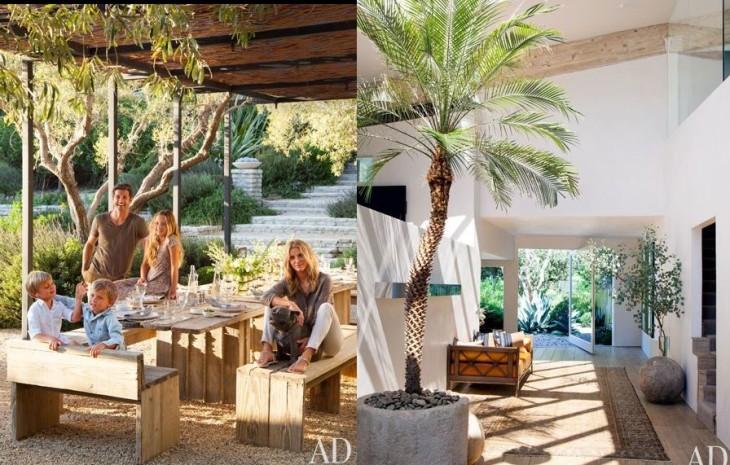 """Patrick Dempseys Malibu Home""  Patrick Dempsey amazing Malibu House Patrick Dempseys Malibu Home 7"