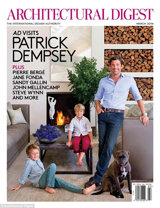 """""""Patrick Dempseys Malibu Home""""  Patrick Dempsey amazing Malibu House article 2552649 1B3968BB00000578 312"""