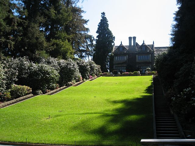"""""""Playboy Maison backyard"""" inside the playboy mansion Interiors: Inside the Playboy Mansion 425851118 347f52e7fa o"""
