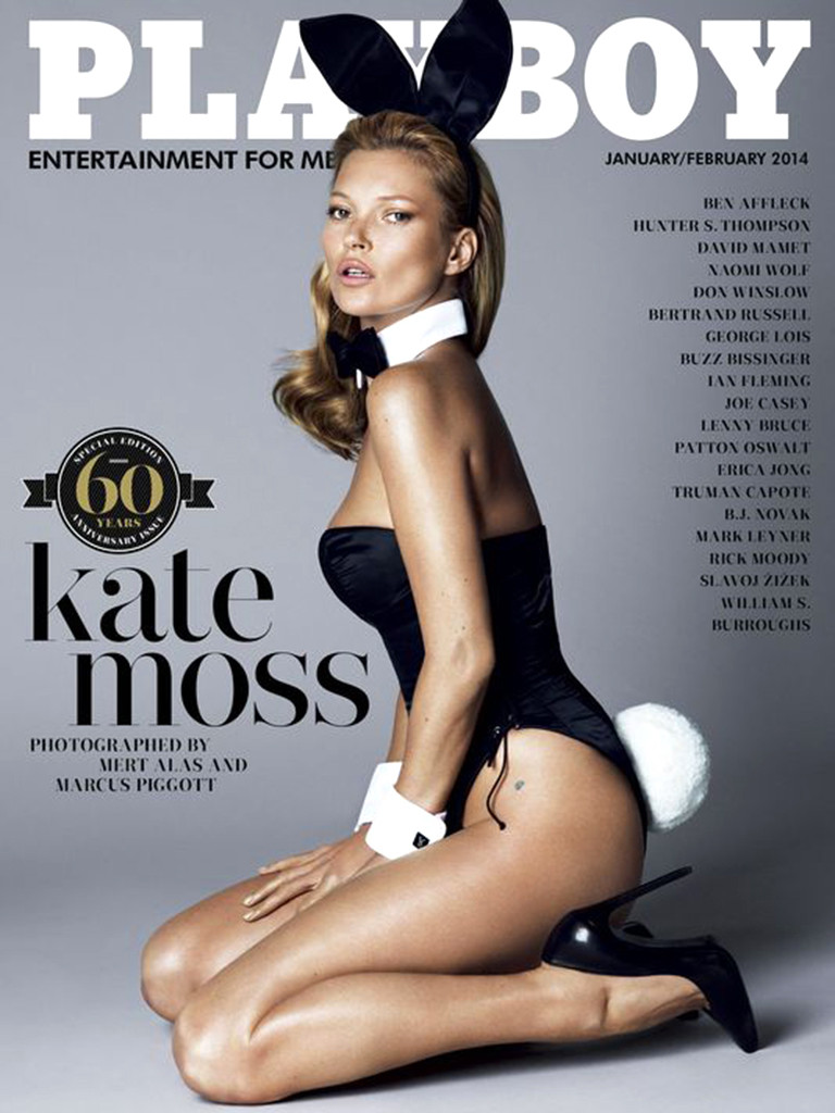 """Playboy cover with Kate Moss"""