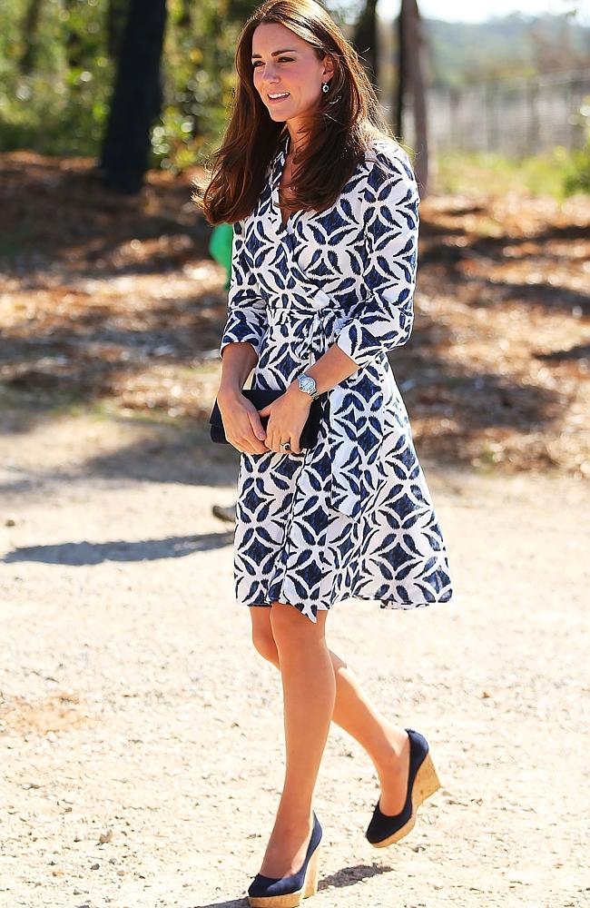 """""""Kate Middleton dress""""  Diane von Furstenberg will bring Africa to La Cienega Quarter 127554 493fcc1c c5de 11e3 9396 36246133c91b"""