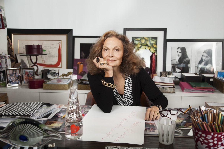 """""""Diana Von Diane von Furstenberg  house""""  Diane von Furstenberg will bring Africa to La Cienega Quarter Diane von Furstenberg designs for Evian"""