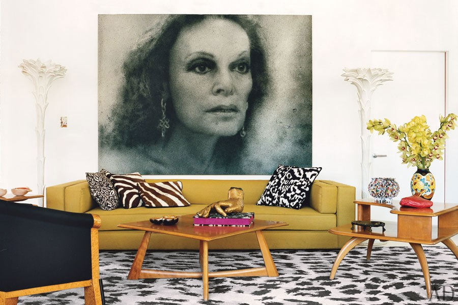 """""""Diana Von Diane von Furstenberg  house""""  Diane von Furstenberg will bring Africa to La Cienega Quarter item2"""
