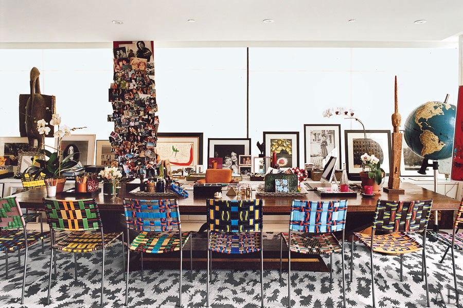 """""""Diana Von Diane von Furstenberg  house""""  Diane von Furstenberg will bring Africa to La Cienega Quarter item3"""