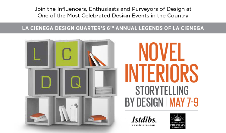 """Legends 2014 La Cienega Design Quarter"""