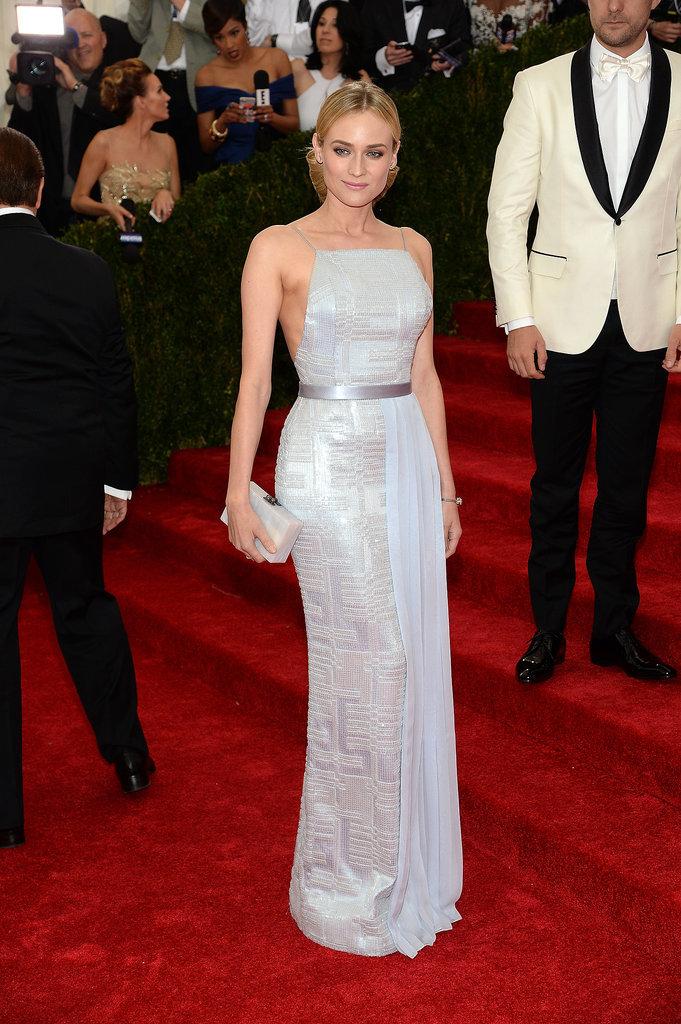 """""""Met Gala 2014""""  MET GALA 2014: Top ten best dressed Diane Kruger Joshua Jackson Met Gala 2014"""