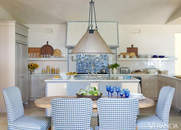 """Veranda California Home""  Veranda California Home: french country as inspiration VER california home dining room c de"