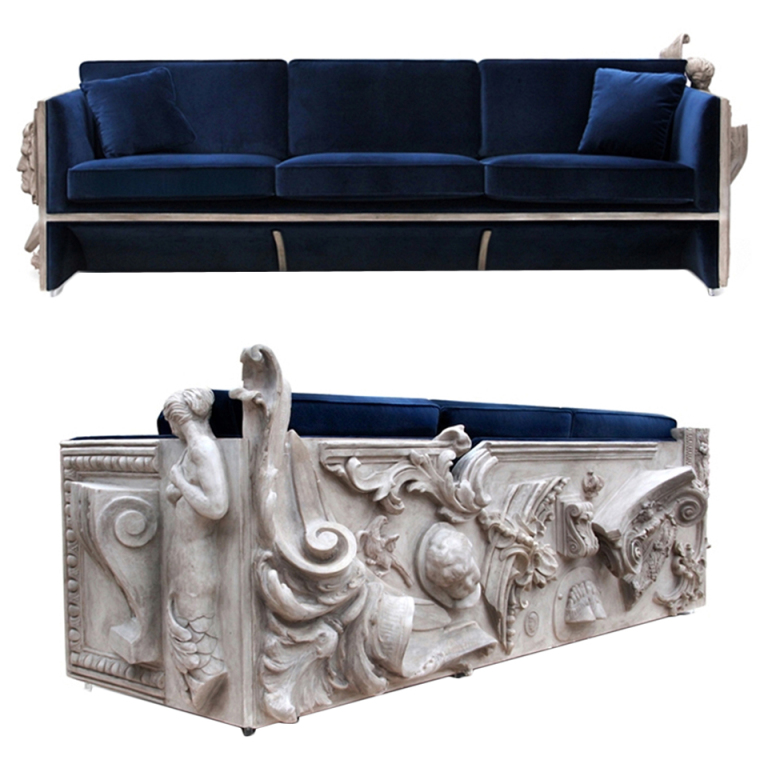 """Sofa from Brabbu""  How to get Martyn Lawrence Bullard style inside your home? XXX Versailles Sofa 1"