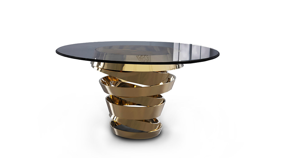 """""""KOKET table""""  How to get Martyn Lawrence Bullard style inside your home? intuition dining table 4"""