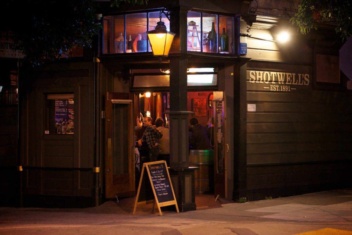 """Top 5 bars in San Francisco""  San Francisco night life: top 5 bars in San Francisco shotwells by tobin jones"