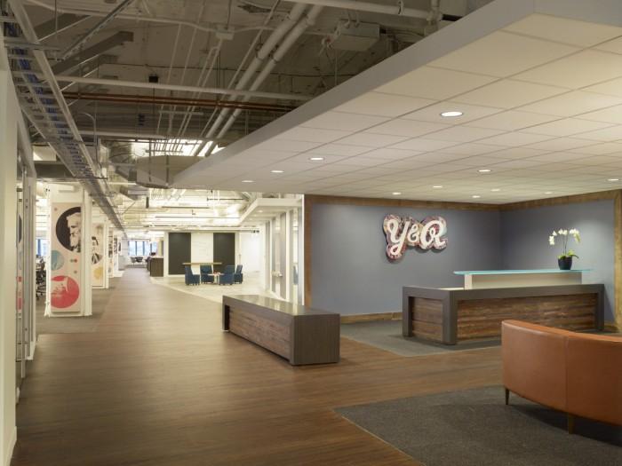 """ Offices renovation by IA Interior Architects""  Office renovation: Young & Rubican by IA Interior Architects 1 Young and Rubicam by IA Interior Arch San Francisco USA"