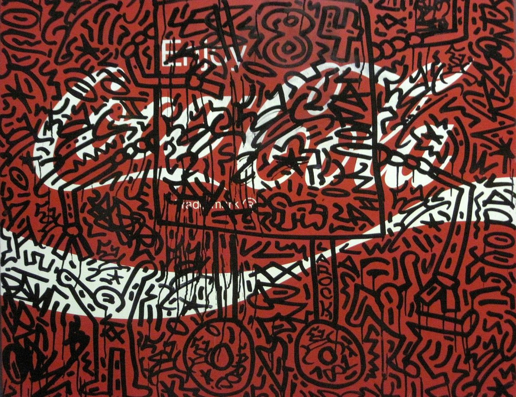 Keith Haring: The Political Line  Keith Haring: The Political Line 9307385439 eb7b08e7b4 b