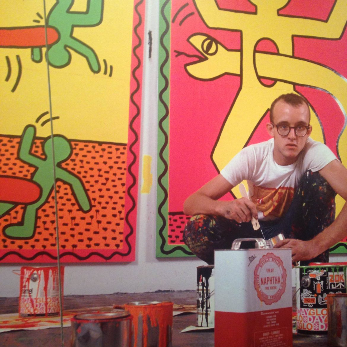 Keith Haring  Keith Haring: The Political Line Keith Haring 9 e1416289665528