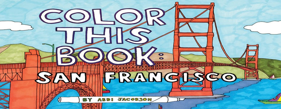 Landmarks Of New York City and San Francisco in Coloring Books Landmarks Of New York City and San Francisco in Coloring Books