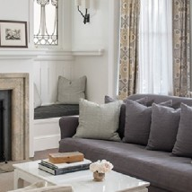 Traditional but Modern Living Rooms by Lauren Nelson Design